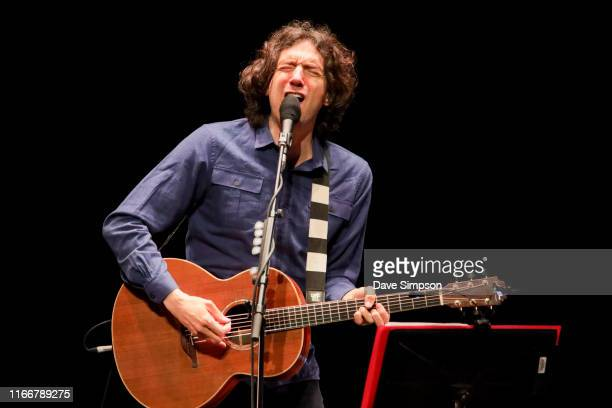 Gary Lightbody of Snow Patrol performs on stage at ASB Theatre Aotea Centre on August 08 2019 in Auckland New Zealand