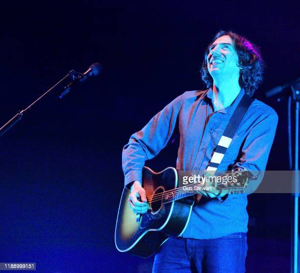 Gary Lightbody of Snow Patrol performs on stage at Royal Albert Hall on November 20, 2019 in London, England.