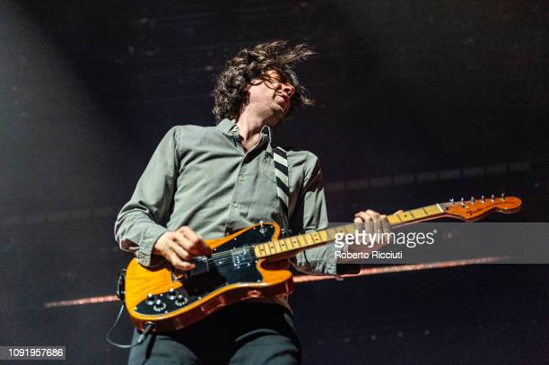 Gary Lightbody of Snow Patrol performs on stage at The SSE Hydro on January 31 2019 in Glasgow Scotland