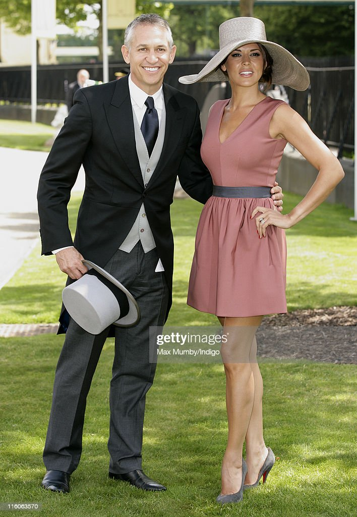 Gary Lineker and Danielle Lineker attend the opening day of Royal Ascot at Ascot Racecourse on June 14, 2011 in Ascot, United Kingdom.