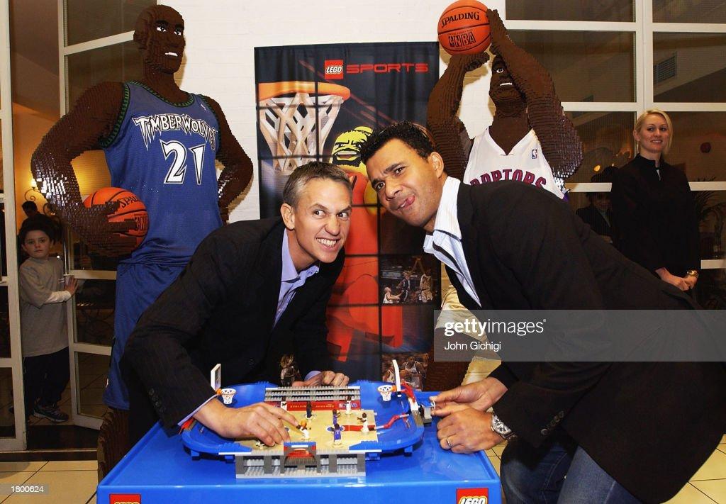 LEGO NBA basketball launch : News Photo