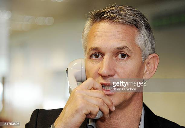 Gary Lineker attends the annual BGC charity day at BGC Partners on September 11 2012 in London England