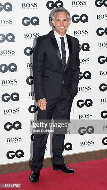 Gary Lineker attends the GQ Men of the Year Awards at The Royal Opera House on September 8 2015 in London England