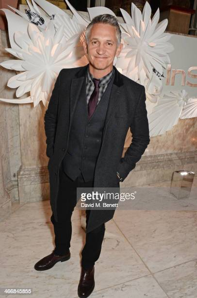 Gary Lineker attends the InStyle Best of British Talent party in celebration of BAFTA in association with Lancome and Sky Living at Dartmouth House...