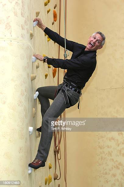 Gary Lineker attends the launch of Walkers Deep Ridged crisp at The Old Truman Brewery on August 29 2012 in London England