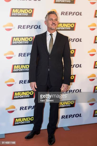 Gary Lineker attends the photocall of the 70th Mundo Deportivo Gala on February 5 2018 in Barcelona Spain