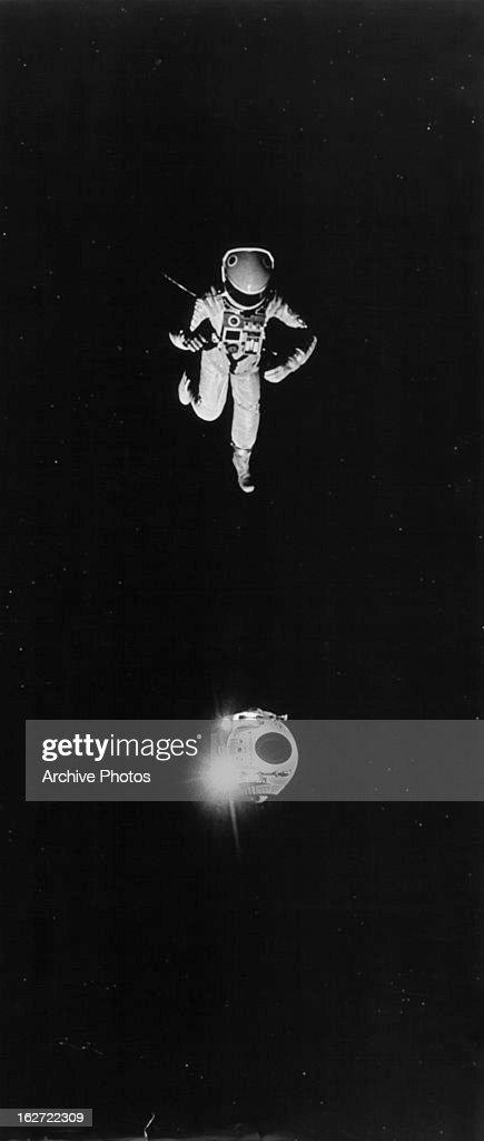 Gary Lockwood And Keir Dullea In '2001: A Space Odyssey' : Foto jornalística