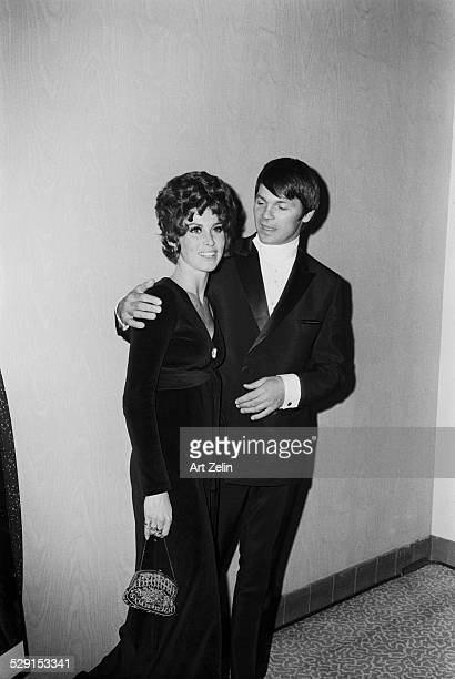 Gary Lockwood with Stefanie Powers at a formal event circa 1970 New York