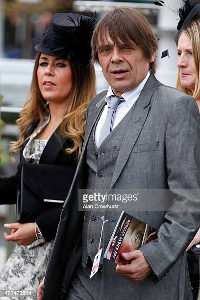 Gary Manny 'Mani' Mounfield of the Stone Roses at Chester racecourse on May 07 2015 in Chester England