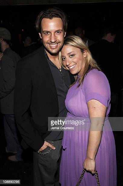 Gary Mantoosh and Lisette Sand-Freedman during Armani Exchange Celebrates Jonathan Rhys Meyers for Nylon Guys Summer Issue Cover at Butter at Butter...