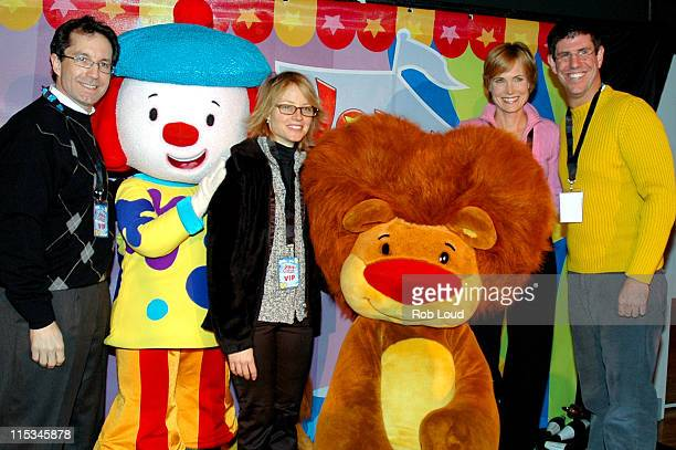 Gary Marsh Executive VicePresident of Disney Channel JoJo Jodie Foster Goliath Willow Bay and Rich Ross President of Disney Channel