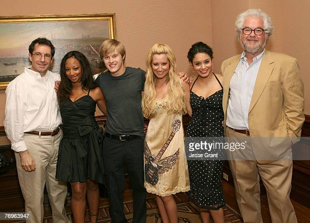 Gary Marsh Monique Coleman Lucas Grabeel Ashley Tisdale and Vanessa Anne Hudgens
