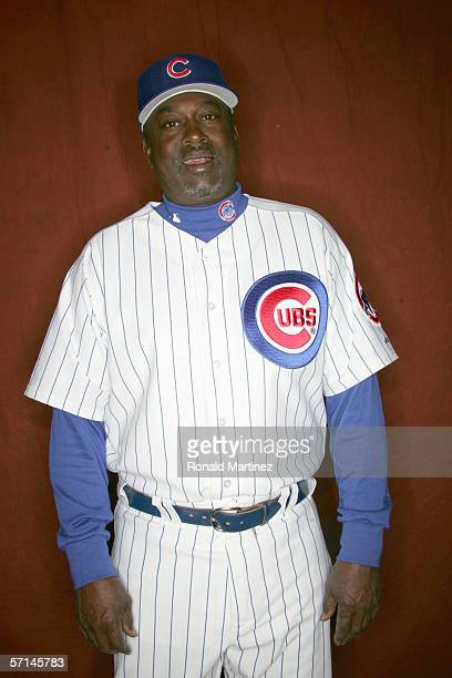 Gary Mathews of the Chicago Cubs poses during Spring Training Photo Day at Fitch Park on February 24 2006 in Mesa Arizona