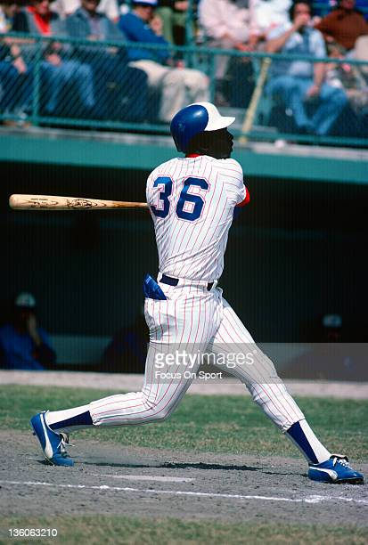 Gary Matthews of the Atlanta Braves bats during a spring training Major League Baseball game circa 1978 Matthews played for the Braves from 197780