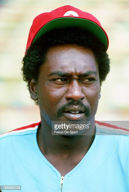 Gary Matthews of the Philadelphia Phillies looks on during an Major League Baseball game circa 1981 Matthews played for the Phillies from 198183
