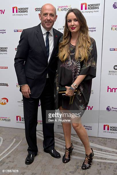 Gary Mcallister attends the 21st Legends of football event to celebrate 25 seasons of the Premier League and raise money for music therapy charity...