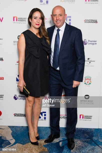 Gary McAllister attends the Legends of Football fundraiser at The Grosvenor House Hotel on October 2 2017 in London England The annual footballthemed...