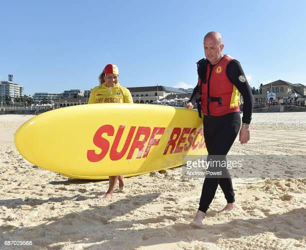 Gary McAllister legend of Liverpool during a visit to Bondi Beach on May 23 2017 in Sydney Australia