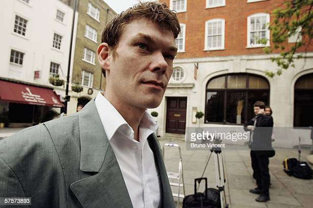 Gary McKinnon arrives at Bow Street Magistrates court on May 10 2006 in London The court will decide today whether to extradite Mr McKinnon to the...