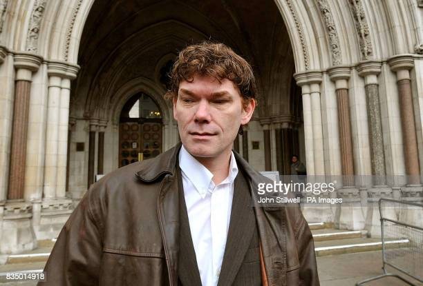 Gary McKinnon arrives at the High Courts in central London to appeal against his extradition to America for hacking into US military networks