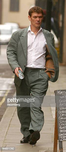 Gary McKinnon arrives for an extradition hearing at Bow Street Magistrates Court in London Wednesday May 10 2006 The court decided that McKinnon who...