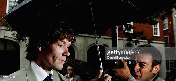 Gary McKinnon of North London enters the Bow Street Magistrates Court on July 27 2005 in London England McKinnon of Wood Green North London today is...