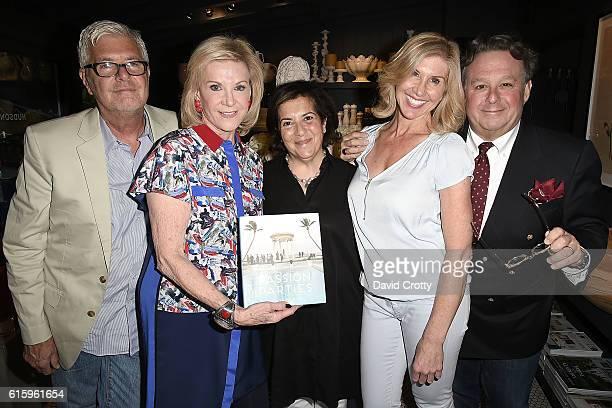 Gary McNatton Elaine Wynn Monelle Totah Kevyn Wynn and Steven Stolman attend as Elaine Wynn and Hudson Grace Celebrate the Publication of Steven...