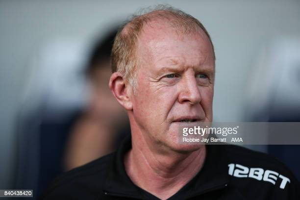 Gary Megson assistant head coach / manager of West Bromwich Albion during the Premier League match between West Bromwich Albion and Stoke City at The...
