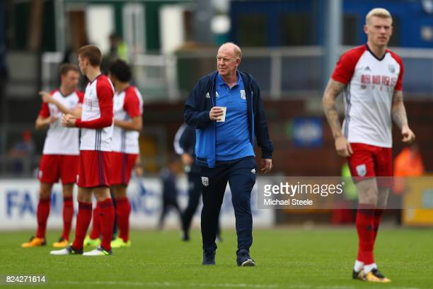 Gary Megson the assistant coach of West Bromwich Albion during the pre season match between Bristol Rovers and West Bromwich Albion at the Memorial...