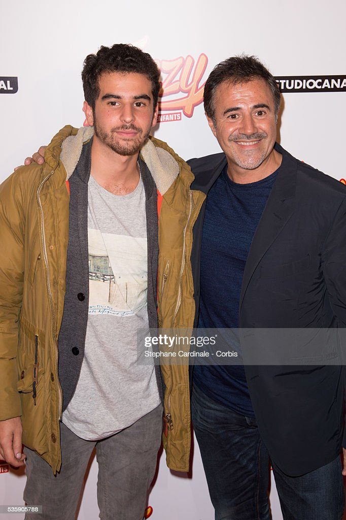 Gary Mihaileanu and Jose Garcia attend the 'Fonzy' Paris Premiere at Cinema Gaumont Opera, in Paris.