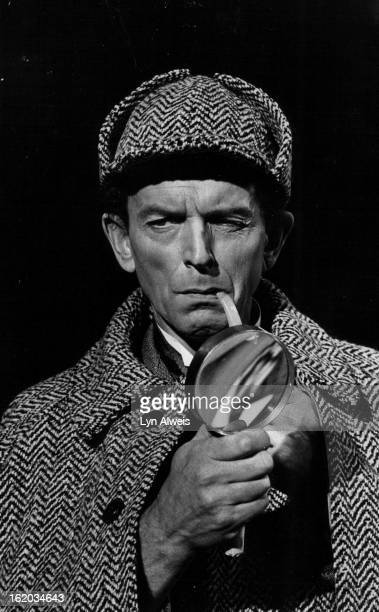 DEC 19 1977 JAN 19 1978 JAN 20 1978 Gary Montgomery As Sherlock Holems The detective solves a blackmail case in the Bonfils Theater production