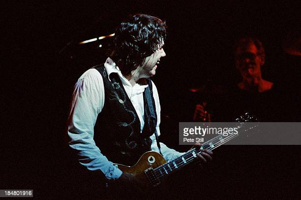 Gary Moore of BBM performs on stage at Brixton Academy on June 5th 1994 in London England