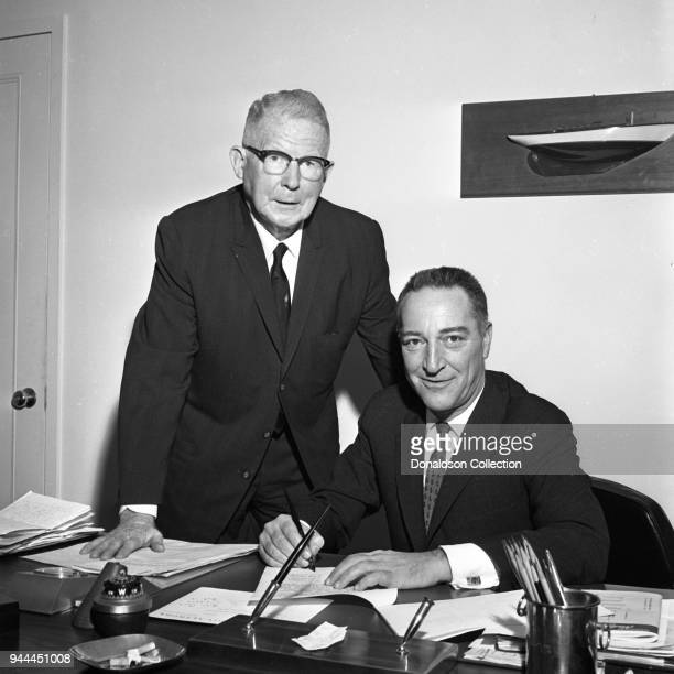 Gary Moore signs a contract with Malcolm Red Farnsworth on November 8 1962 in New York