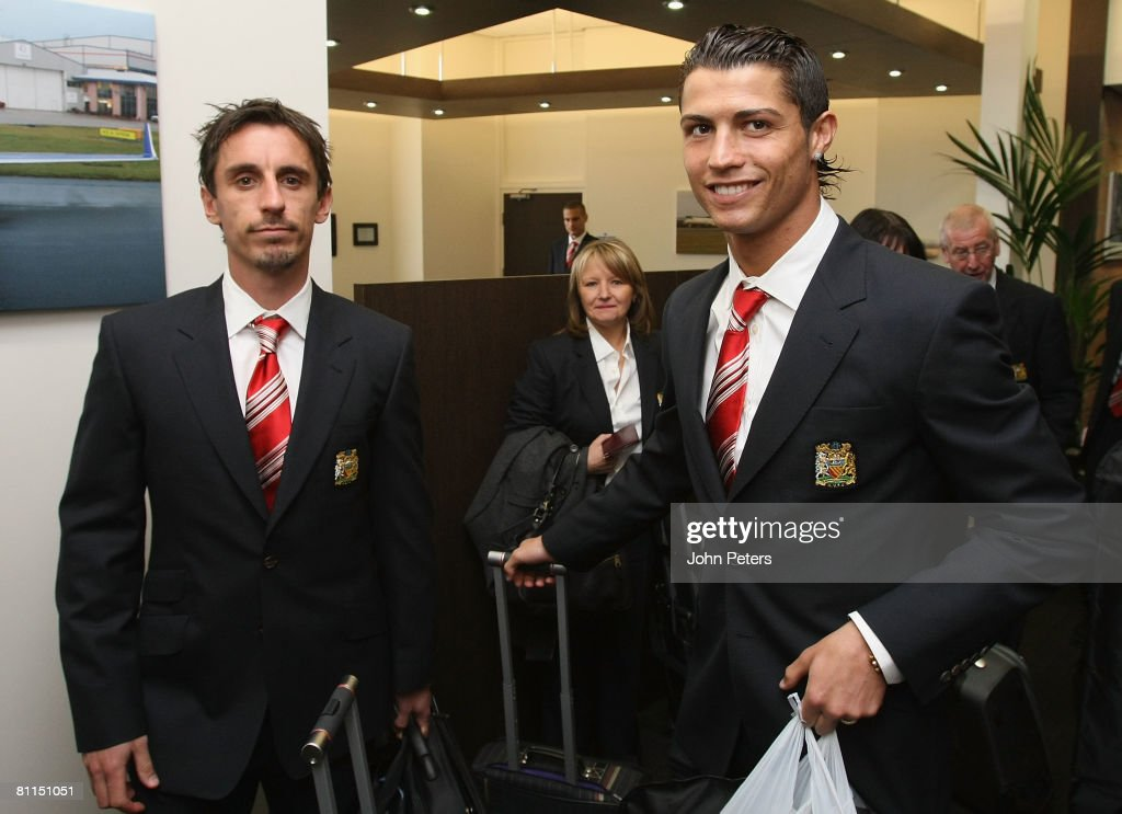 Manchester United depart for UEFA Champions League Final