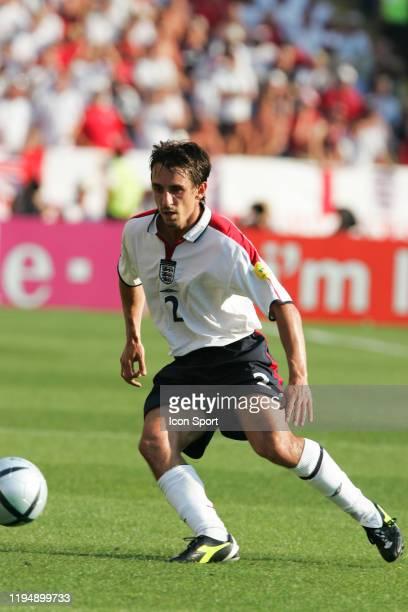 Gary NEVILLE of England during the European Championship match between England and Switzerland at Estadio Cidade de Coimbra, Coimbra, Portugal on 17...