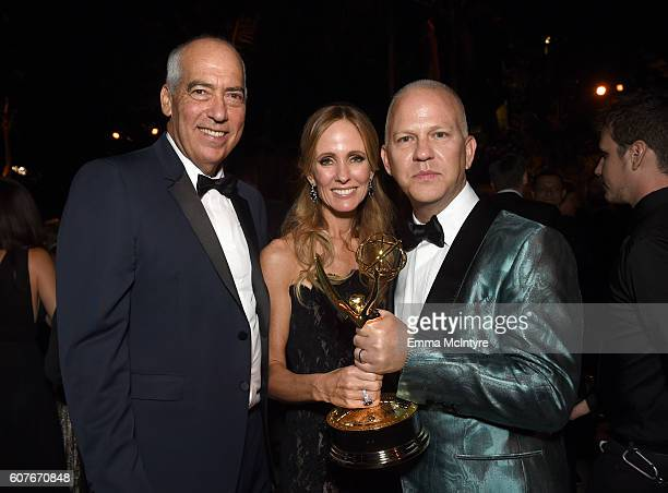 Gary Newman Dana Walden and Ryan Murphy attendsthe FOX Broadcasting Company FX National Geographic And Twentieth Century Fox Television's 68th...