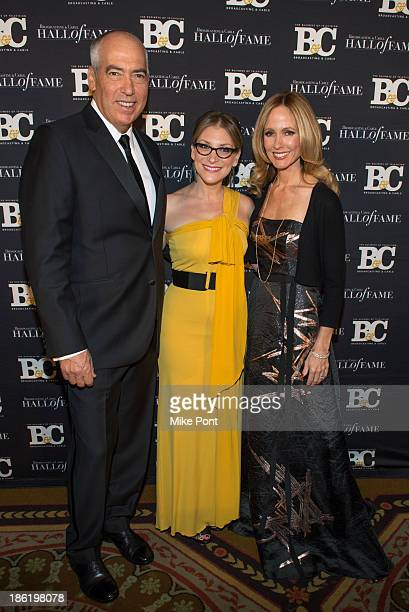 Gary Newman Melissa Grego and Dana Walden attend the Broadcasting and Cable 23rd Annual Hall of Fame Awards Dinner at The Waldorf Astoria on October...