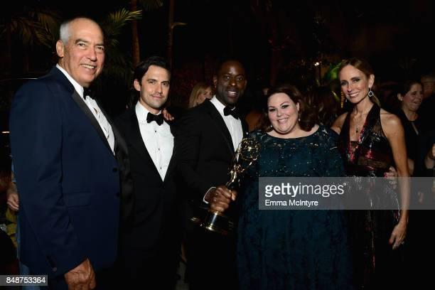 Gary Newman Milo Ventimiglia Sterling K Brown Chrissy Metz and Dana Walden attend FOX Broadcasting Company Twentieth Century Fox Television FX And...