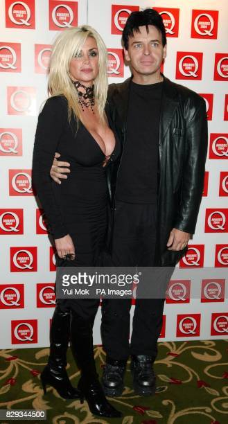 Gary Numan and his wife Gemma arrive for the 15th annual Q Awards at Grosvenor House in London's Park Lane Jonathan Ross hosts the music magazine...