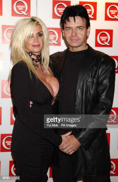 Gary Numan and his wife Gemma arrives for the 15th annual Q Awards at Grosvenor House in London's Park Lane Jonathan Ross hosts the music magazine...