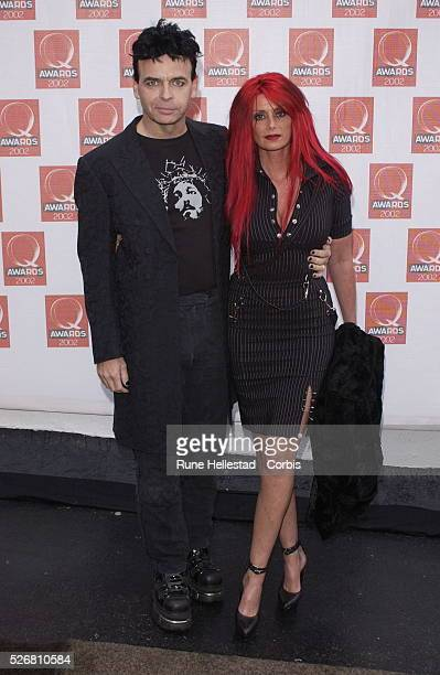 Gary Numan and his wife Gemma attend the Q Magazine Awards at the Old Saatchi Gallery