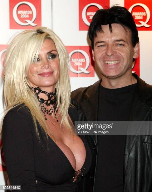 Gary Numan and wife Gemma during the 15th annual Q Awards at Grosvenor House in London's Park Lane Jonathan Ross hosts the music magazine awards...