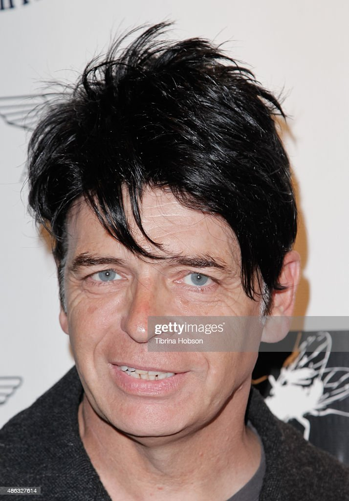 Gary Numan attends the VIP opening reception for 'Dis-Ease', an evening of fine art with Billy Morrison at Mouche Gallery on September 2, 2015 in Beverly Hills, California.