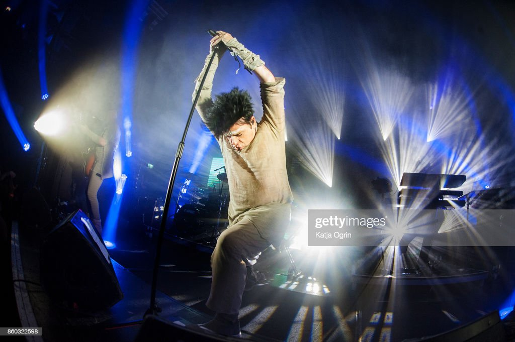 Gary Numan performs at The O2 Institute Birmingham on October 11, 2017 in Birmingham, England.