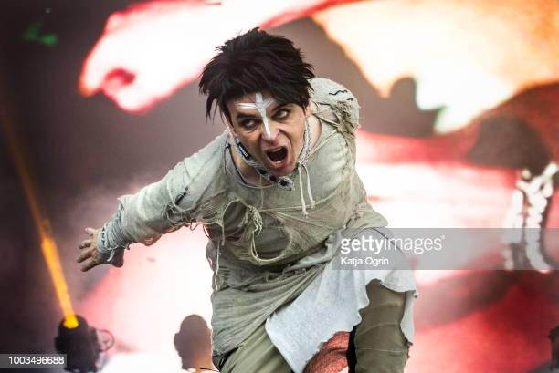 Gary Numan performs on day 2 of Bluedot Festival at Jodrell Bank on July 21 2018 in Manchester England