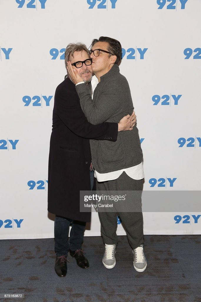 Gary Oldman and Director Joe Wright attend 92nd Street Y Preview Screening of 'Darkest Hour' at 92nd Street Y on November 16, 2017 in New York City.