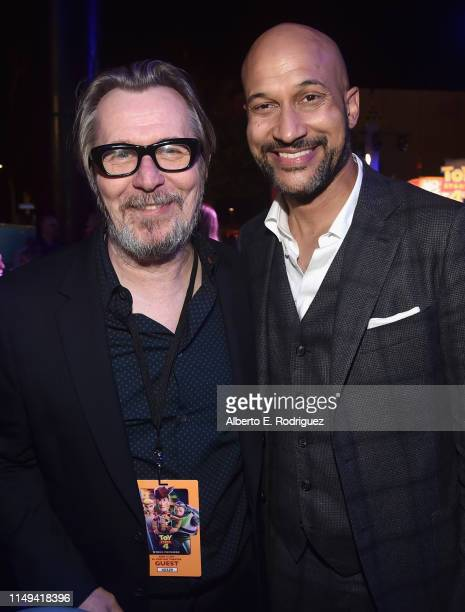 Gary Oldman and KeeganMichael Key attend the world premiere of Disney and Pixar's TOY STORY 4 at the El Capitan Theatre in Hollywood CA on Tuesday...