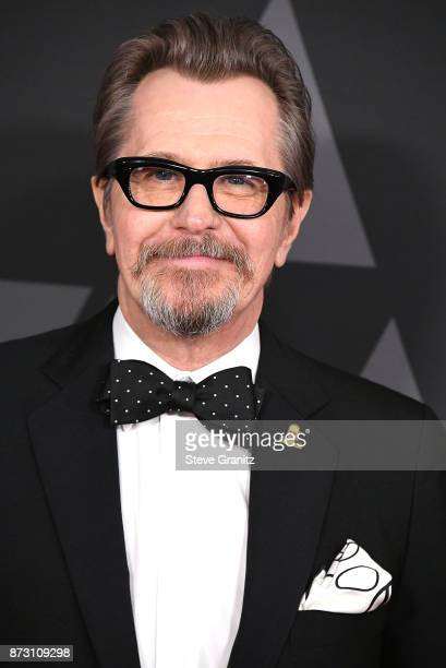 Gary Oldman arrives at the Academy Of Motion Picture Arts And Sciences' 9th Annual Governors Awards at The Ray Dolby Ballroom at Hollywood Highland...