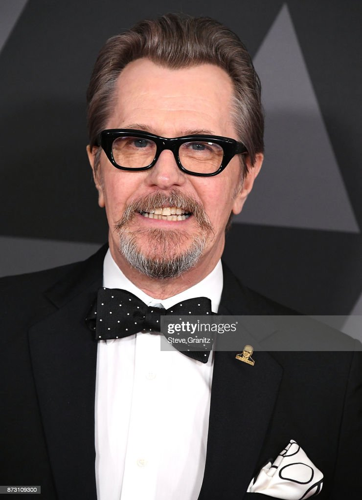 Gary Oldman arrives at the Academy Of Motion Picture Arts And Sciences' 9th Annual Governors Awards at The Ray Dolby Ballroom at Hollywood & Highland Center on November 11, 2017 in Hollywood, California.
