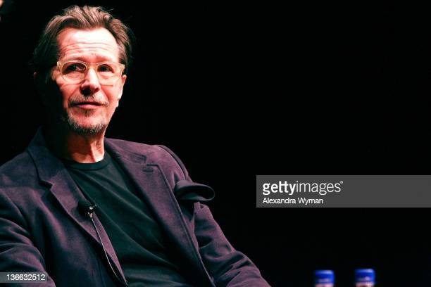 Gary Oldman attends the 23rd Annual Palm Springs International Film Festival Talking Pictures QA With Gary Oldmanon January 8 2012 in Palm Springs...